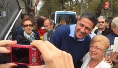 Miles de personas se manifiestan en Barcelona por la unidad de España