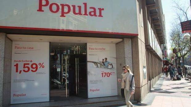 Banco popular cerrar la mitad de las oficinas que tiene - Banco popular oficinas madrid ...