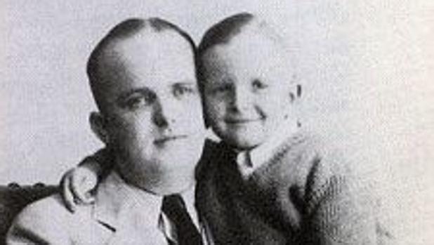 Truman Capote, cuando era pequeño