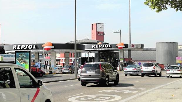 Gasolinera de Atocha, donde quedan muchos de los usuarios de Bla Bla Car