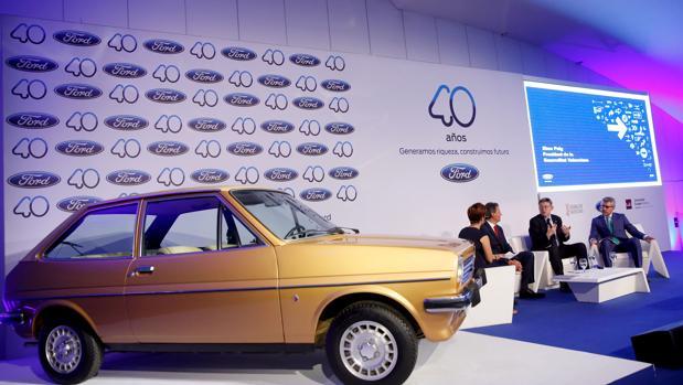 Imagen del acto del aniversario de Ford en España