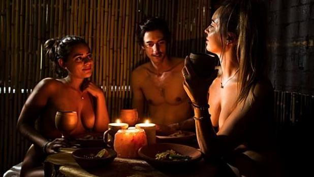 Formato del Innato, restaurante nudista de Canarias, el primero en España