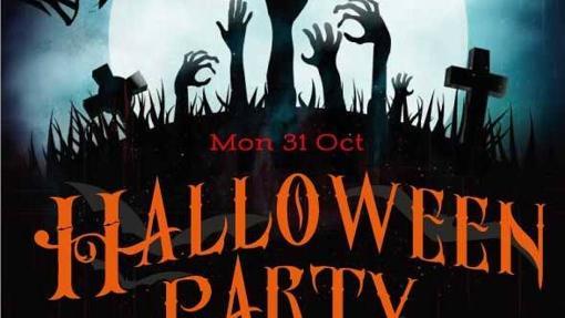 Cartel de la «Halloween Party» en Portland