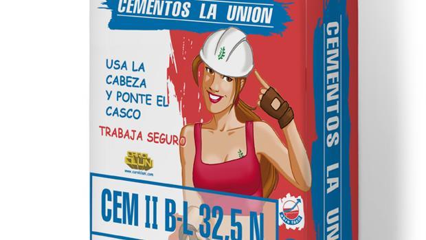 Una de las imágenes consideradas como sexistas de Cementos La Unión