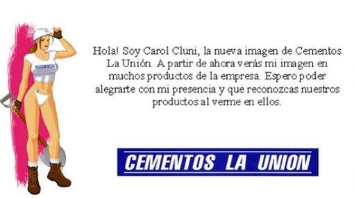 Imagen en la página web de Cementos La Unión