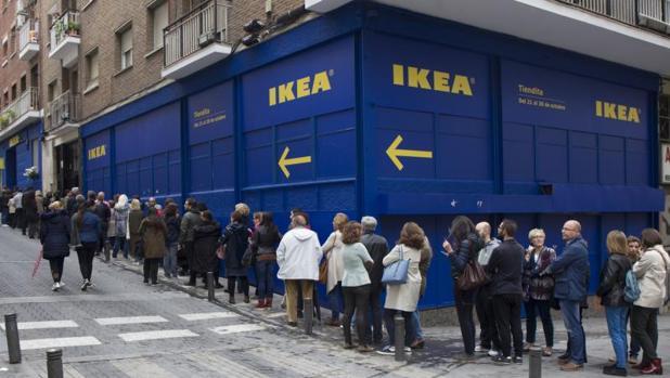 ikea abre dos tiendas ef meras en el centro de madrid. Black Bedroom Furniture Sets. Home Design Ideas