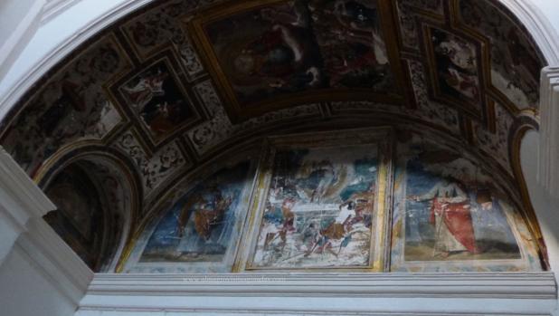 Capilla de San Miguel en el convento de la Encarnación de Almagro