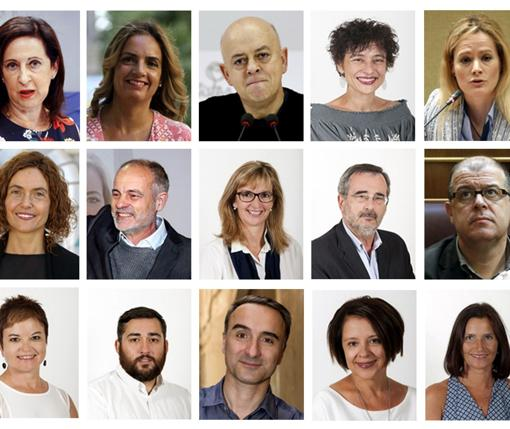 Los diputados que han decidido votar «no» a Rajoy
