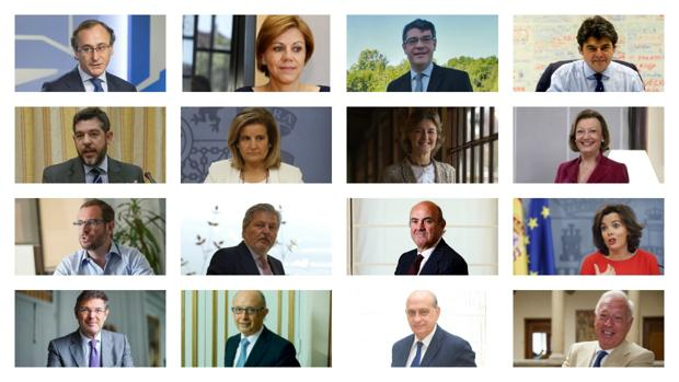 Qui nes ser n los ministros de rajoy for Ministros de espana