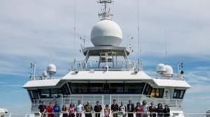 Una expedición científica en el en el buque RRS James Cook en 2013