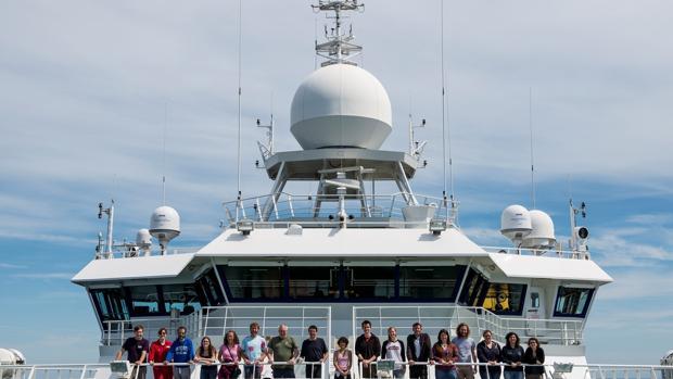 Una expedición científica en el en el buque RRS James Cook