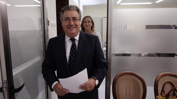 Juan ignacio Zoido, nuevo ministro de Interior, en una imagen del pasado mes de octubre