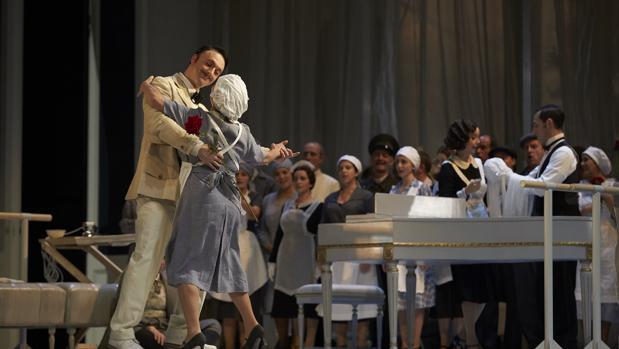 Ensayo general de «Le nozze di Figaro»
