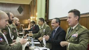 El consejero de Hacienda y Administraciones Públicas, Juan Alfonso Ruiz Molina, participó en el actode inauguración del curso