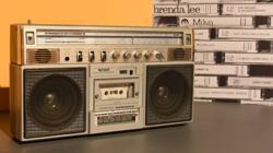 El radiocasete