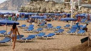 Playa de Levante en Benidorm