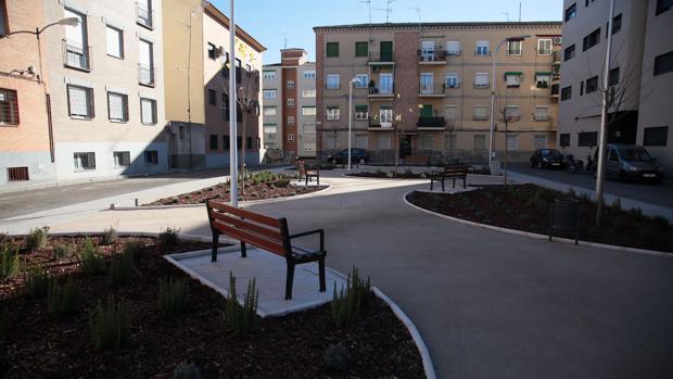 Se ha recuperado esta plaza para el disfrute de los vecinos