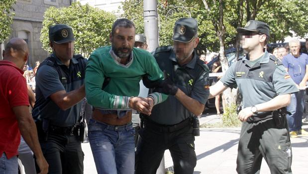 El presunto autor de la muerte violenta de sus dos hijas en la localidad pontevedresa de Moraña, David O.R.
