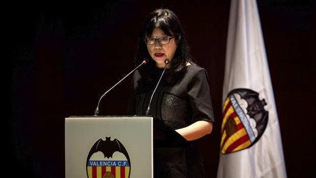 Imagen de archivo de la presidenta del Valencia