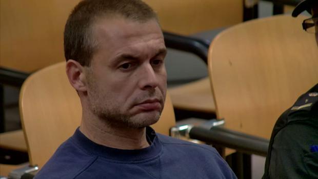 El presunto pederasta de Ciudad Lineal, durante el juicio