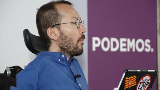 Pablo Echenique, número tres de Podemos y líder del partido en Aragón