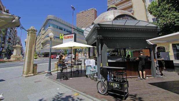 Plaza de Calvo Sotelo en Alicante