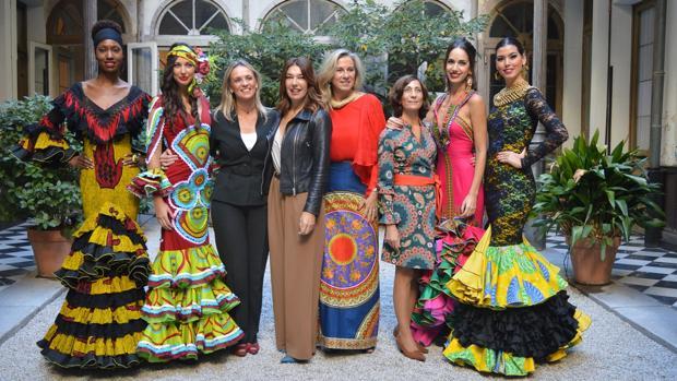Trajes de flamenca de inspiración africana para ayudar a las mujeres ... aea0da1d6da