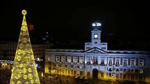 Uvas anticipadas y un vídeo en 360º celebran los 150 años del reloj de la Puerta del Sol