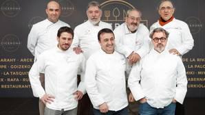 Parte de los chefs que conforman la guía Cicerone