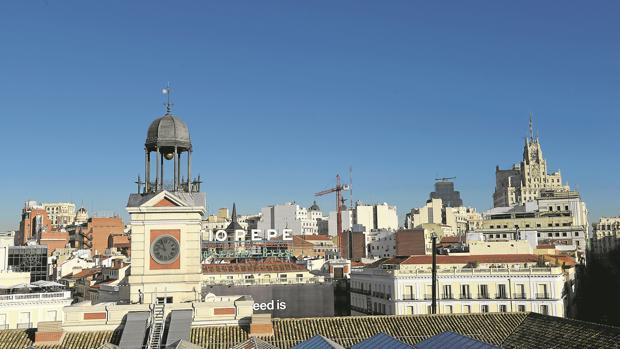 Aniversario del reloj de la puerta del sol siglo y medio for Fotos reloj puerta del sol madrid