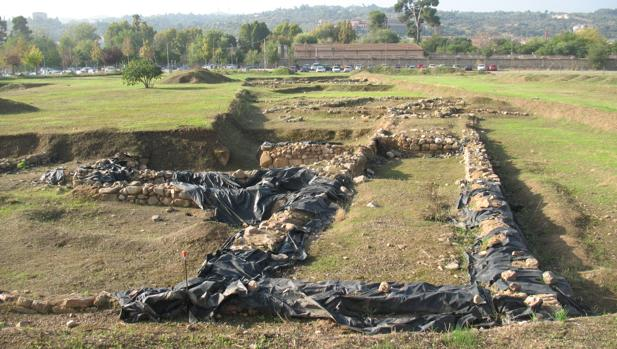 Los trabajos se están realizando bajo la supervisión arqueológica de la Junta de Comunidades