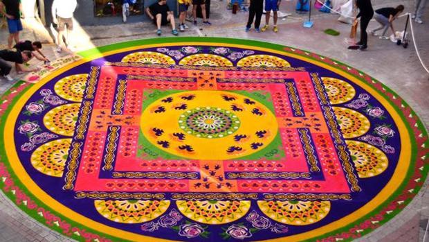 Las alfombras de elche de la sierra bien inmaterial - Alfombras toledo ...