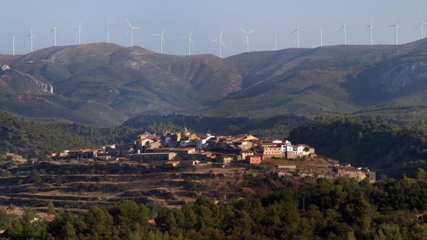 Imagen del paisaje del interior de la provincia de Castellón