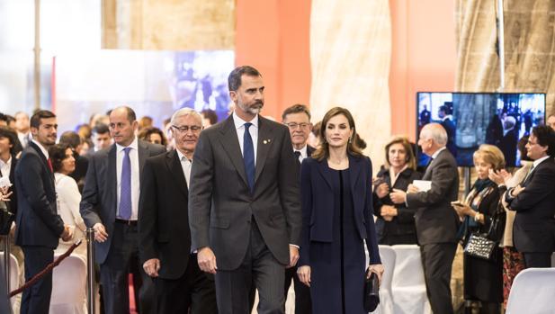 Los Reyes de España, en la ceremonia de entrega de los Premios Jaime I