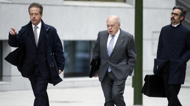 Jordi Pujol llega a la Audiencia Nacional