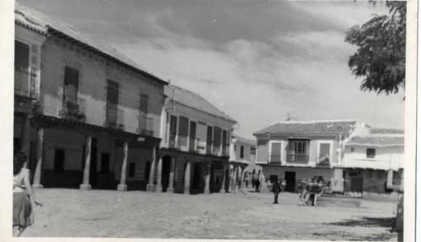 Plaza de Orgaz en el año 1960