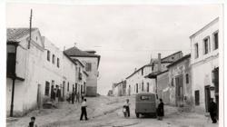 Calle del Alcázar, en Pantoja