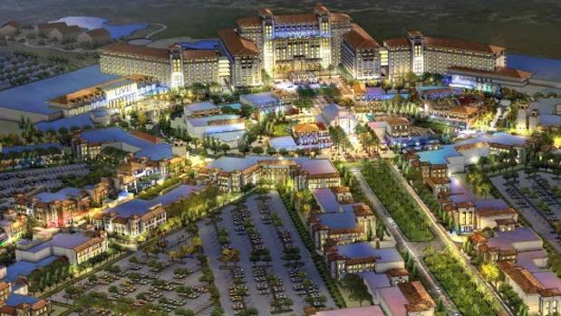 Live Resort!:  Casino, hoteles y un teatro tipo Broadway: así será el «Eurovegas» de Torres de la Alameda