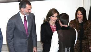 El Rey ensalza la «gloria» de Cervantes en su empeño por expandir la lengua española