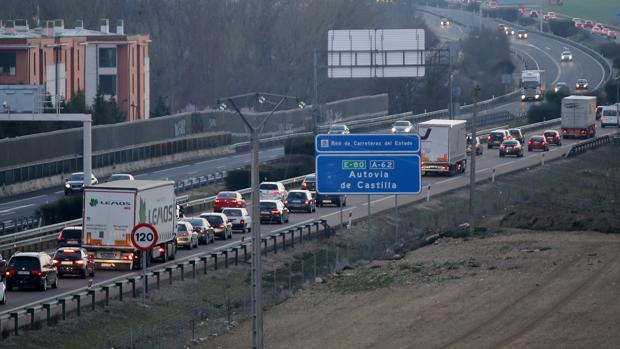 Un tramo de la Autovía de Castilla en una imagen de archivo