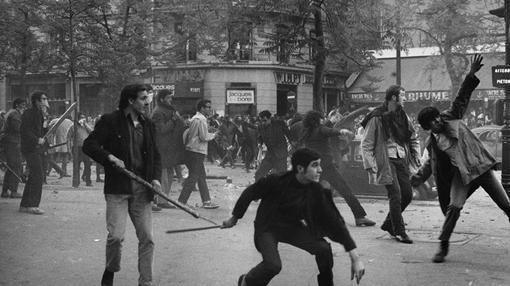 Mayo del 68, en Francia