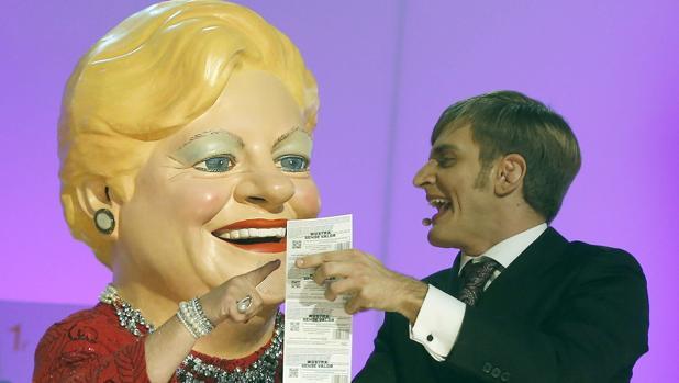 Imagen del sorteo de la «Grossa de cap d'any»