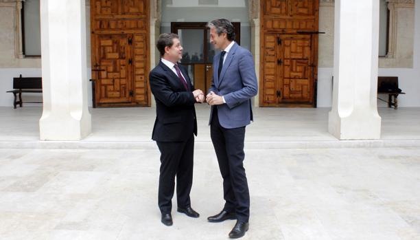 García-Page charla con el ministro de Fomento, Íñigo de la Serna