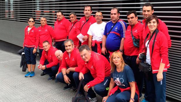 En el Mentatlón Bilbao participaron diez pacientes y cuatro profesionales de los centros de Alcázar de San Juan y Tarancón