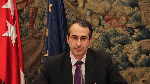 Fernando Suárez, rector de la URJC