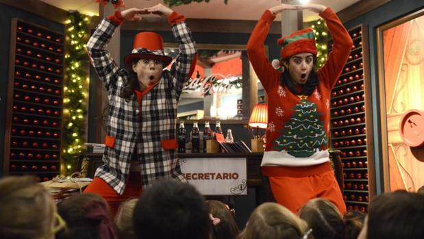 Como Decorar Una Carniceria En Navidad.La Gran Via Abre Las Puertas De La Casa De La Navidad