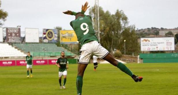 Owusu Kwabena está cedido en el CD Toledo por un año, aunque clubes como el Valencia, el Levante o el Getafe le siguen de cerca