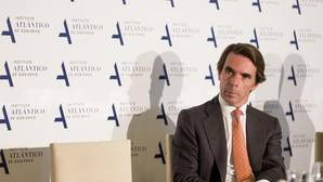José María Aznar, en un evento del Instituto Atlántico de Gobierno