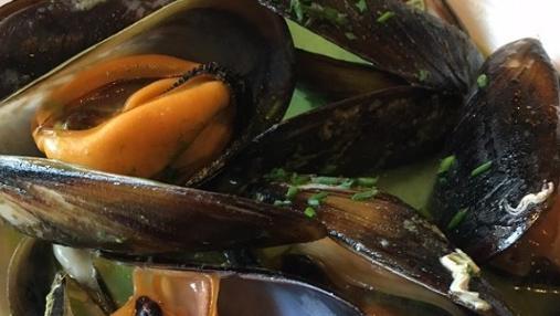 Mejillones en curry verde de Narciso