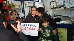 Lotería de Navidad: el 59.444, agraciado con el primer cuarto premio, vendido en Toledo y Villamalea